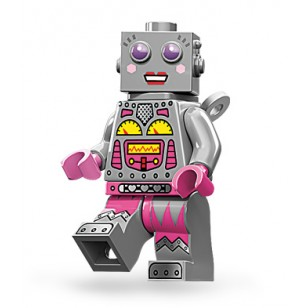 LEGO Series 11 Minifigures Minifigures - Lady Robot - Complete Set