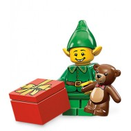 LEGO Series 11 Minifigures Minifigures - Holiday Elf - Complete Set