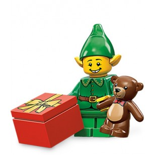 LEGO Series 11 Minifigures Minifigures - Holiday Elf - Complete Set