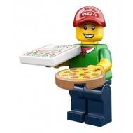 LEGO Series 12 Minifigures - Pizza Delivery Guy - COMPLETE SET
