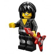 LEGO Series 12 Minifigures - Rock Star - COMPLETE SET