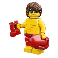 LEGO Series 12 Minifigures - Lifeguard - COMPLETE SET