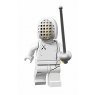 LEGO Series 13 Minifigures - Fencer - COMPLETE SET