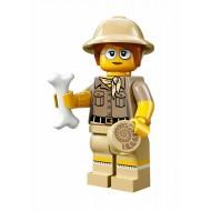 LEGO Series 13 Minifigures - Paleontologist - COMPLETE SET