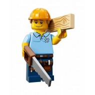 LEGO Series 13 Minifigures - Carpenter - COMPLETE SET