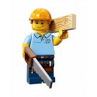 LEGO Series 13 Minifigures - Carpenter - COMPLETE SET