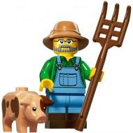 LEGO Series 15 Minifigures - Farmer - COMPLETE SET