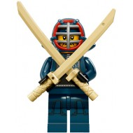 LEGO Series 15 Minifigures - Kendo Fighter - COMPLETE SET