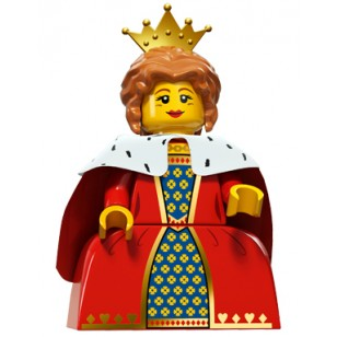 LEGO Series 15 Minifigures - Queen - COMPLETE SET
