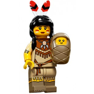 LEGO Series 15 Minifigures - Tribal Woman - COMPLETE SET