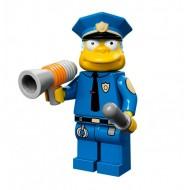 LEGO Series Simpsons Minifigures - Chief Wiggum - COMPLETE SET
