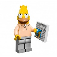 LEGO Series Simpsons Minifigures - Grampa Simpson - COMPLETE SET