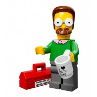 LEGO Series Simpsons Minifigures - Ned Flanders - COMPLETE SET