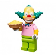 LEGO Series Simpsons Minifigures - Krusty the Clown - COMPLETE SET