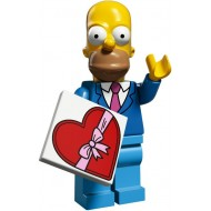 LEGO Series Simpsons 2 - Homer Simpson with Tie and Jacket - Complete Set