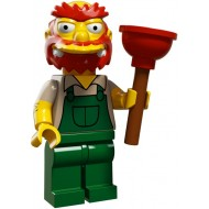 LEGO Series Simpsons 2 - Groundskeeper Willie - Complete Set