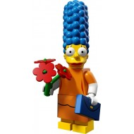 LEGO Series Simpsons 2 - Marge Simpson with Orange Dress - Complete Set