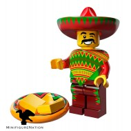 LEGO Series Movie Minifigures - Taco Tuesday Man - COMPLETE SET