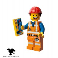 LEGO Series Movie Minifigures - Hard Hat Emmet - COMPLETE SET