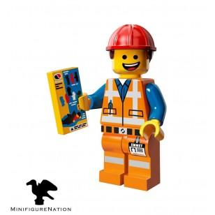 LEGO Series Movie Minifigures - Hard Hat Emmet - COMPLETE SET