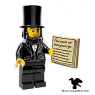 LEGO Series Movie Minifigures - Abraham Lincoln - COMPLETE SET