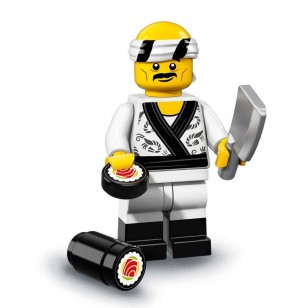 LEGO Series Ninjago Movie Minifigures - Sushi Chef - COMPLETE SET