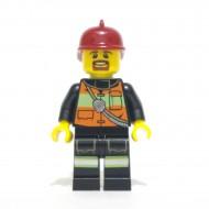 LEGO Fireman - Reflective Stripe Vest
