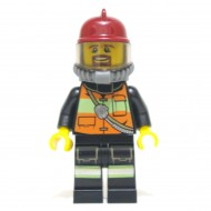 LEGO Fireman - Reflective Stripe Vest with Gear