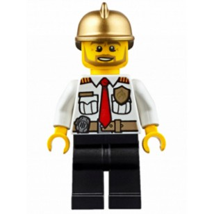 LEGO Fire Minifigures - Fire Chief