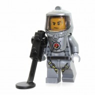 LEGO City Minifigures - Volcano Explorer - Male Scientist with Heatsuit and Metal Detector