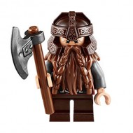 LEGO Hobbit and Lord of the Rings Minifigures - Gimli - Dimensions