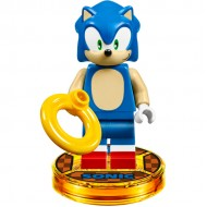 LEGO Dimension Minifigures - Sonic the Hedgehog - Dimensions Level Pack With dimension toy tag, head in sealed bag.