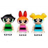 Powerpuff Girls Set -  Buttercup , Blossom and Bubble