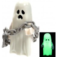 LEGO Monster Fighter Minifigures (Glow in Dark) - Ghost with Chain (Halloween)