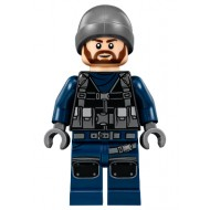 LEGO Jurassic World Minifigures - Guard, Ski Beanie (75927)
