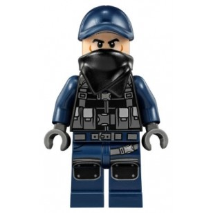 LEGO Jurassic World Minifigures - Guard, Scarf (75933)