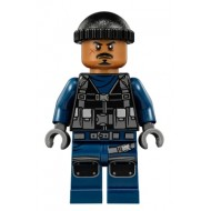 LEGO Jurassic World Minifigures - Guard, Knit Cap (75933)