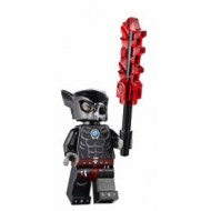 LEGO Legends of Chima Minifigures - Wilhurt with weapons