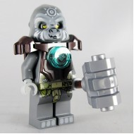 LEGO Legends of Chima Minifigures - Grumlo (Armor) with weapons