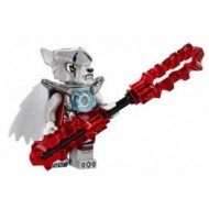 LEGO Legends of Chima Minifigures - Worriz (Armor) with weapons