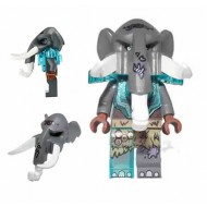 LEGO Legends of Chima Minifigures - Maula - Armor