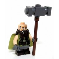 LEGO The Hobbit Minifigures - Dwalin the Dwarf w. weapons