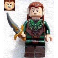 LEGO Mirkwood Elf - Dark Green Outfit (79012) with Weapon
