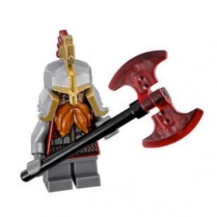 LEGO The Hobbit and the Lord of the Rings Minifigures - Dain Ironfoot (79017)