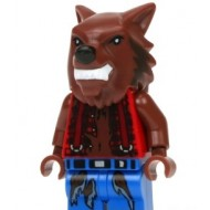 LEGO Monster Fighters Minifigures - Werewolf (Halloween)