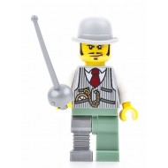 LEGO Monster Fighters Minifigures - Dr. Rodney Rathbone with sword 9464 9466 9468 (Halloween)