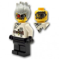 LEGO Monster Fighters Minifigures - Crazy Scientist (Halloween)