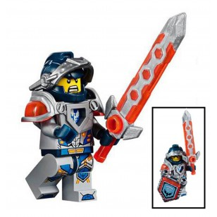 LEGO Nexo Knight Minifigures - Clay
