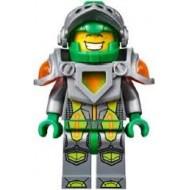 LEGO Nexo Knight Minifigures - Aaron - Flat Silver Visor