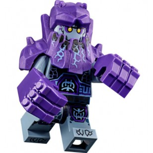 LEGO Nexo Knight Minifigures - Roog (70350) with two fists